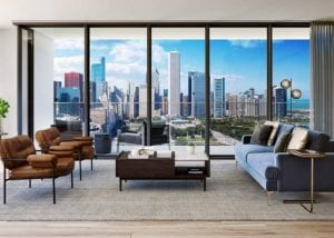 Rent 2 bedrooms in New Luxury Apartment in South Loop