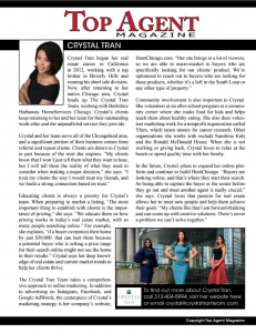 Chicago Crystal Tran Team Top Real Estate Team in Chicago